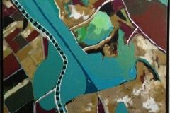 """Fertile - 30""""x30"""" Oil Paint"""